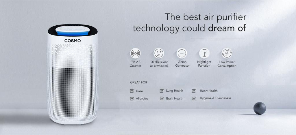 cosmo air purifier air filter