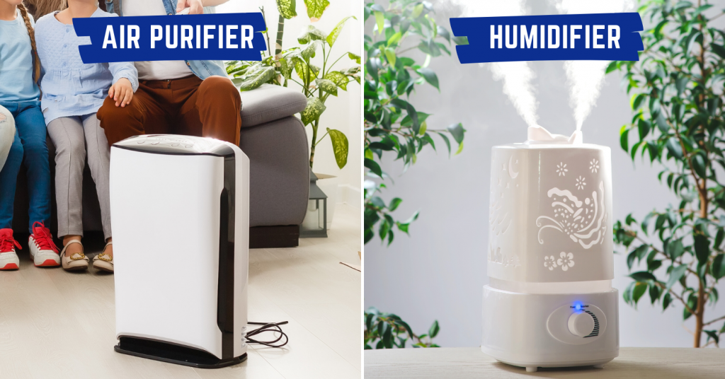 humidifier air purifier comparisons cover