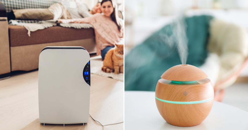 humidifiers air purifiers comparison